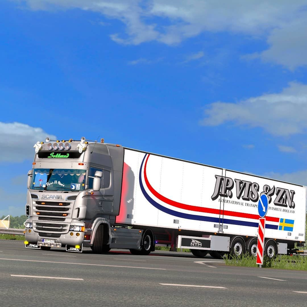 Hardeman Van Harten Virtual Truck Pictures On Instagram Scaniav8 Scaniatrucks