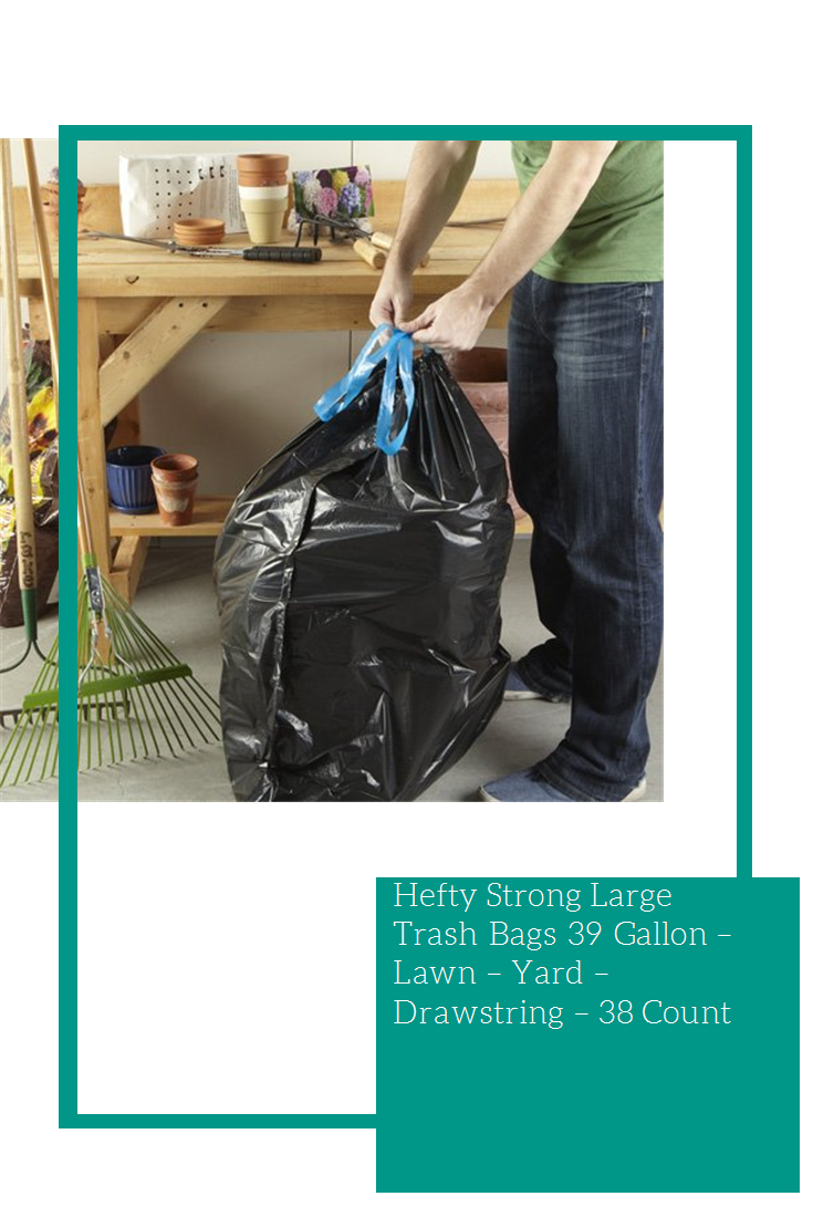 38 Count Strong 39 Gallon Bags