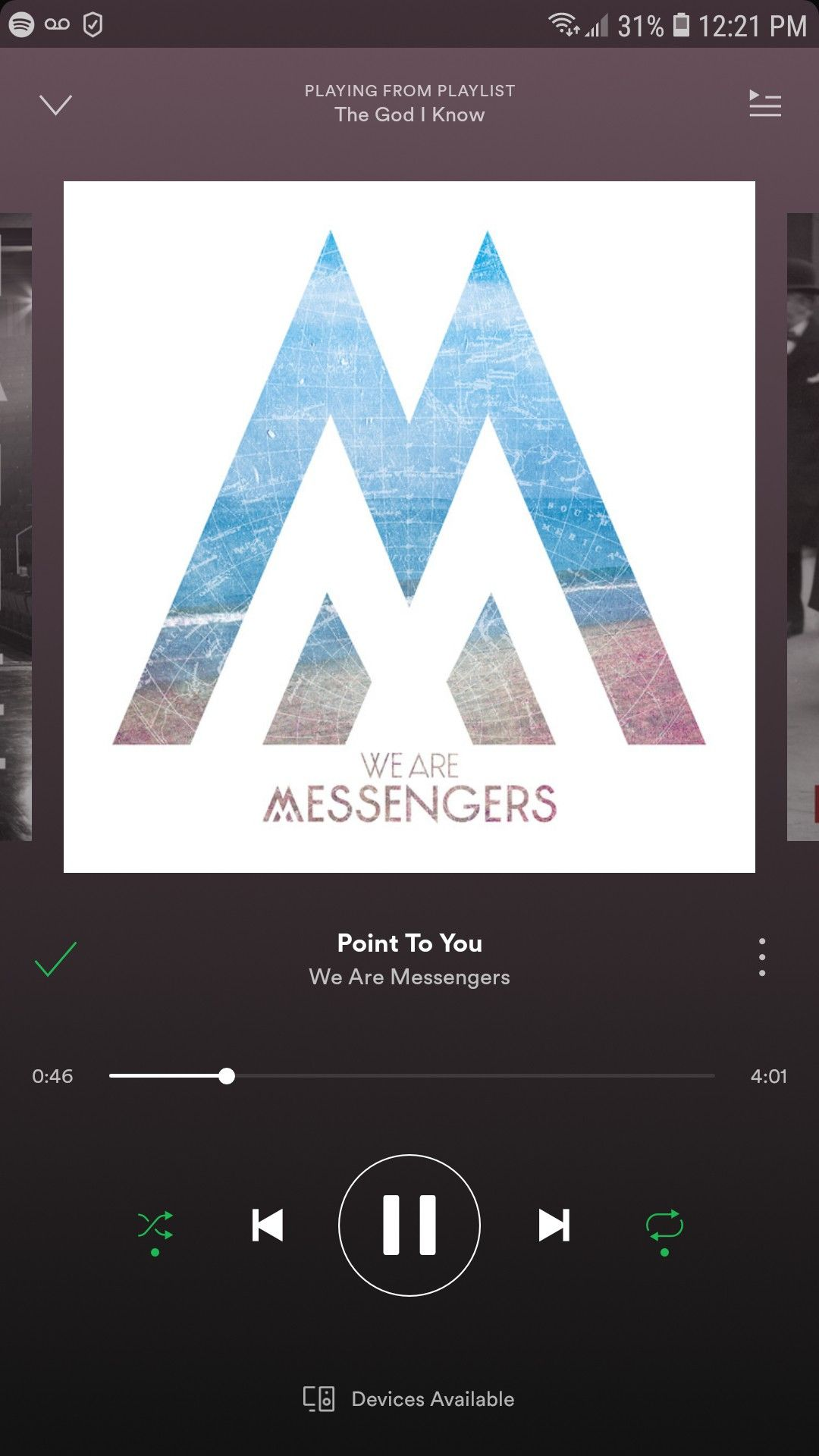 We Are Messangers Point To You Playing From Sareuh S Playlist