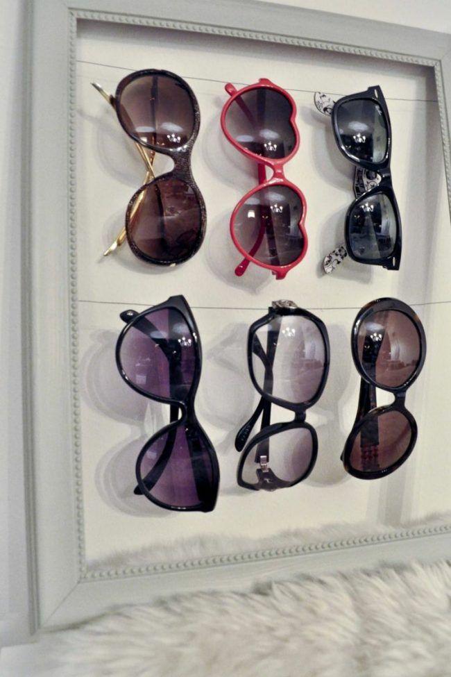 sonnenbrillen aufbewahrung vintage-flair-bilderrahmen-weiss | Flur ...