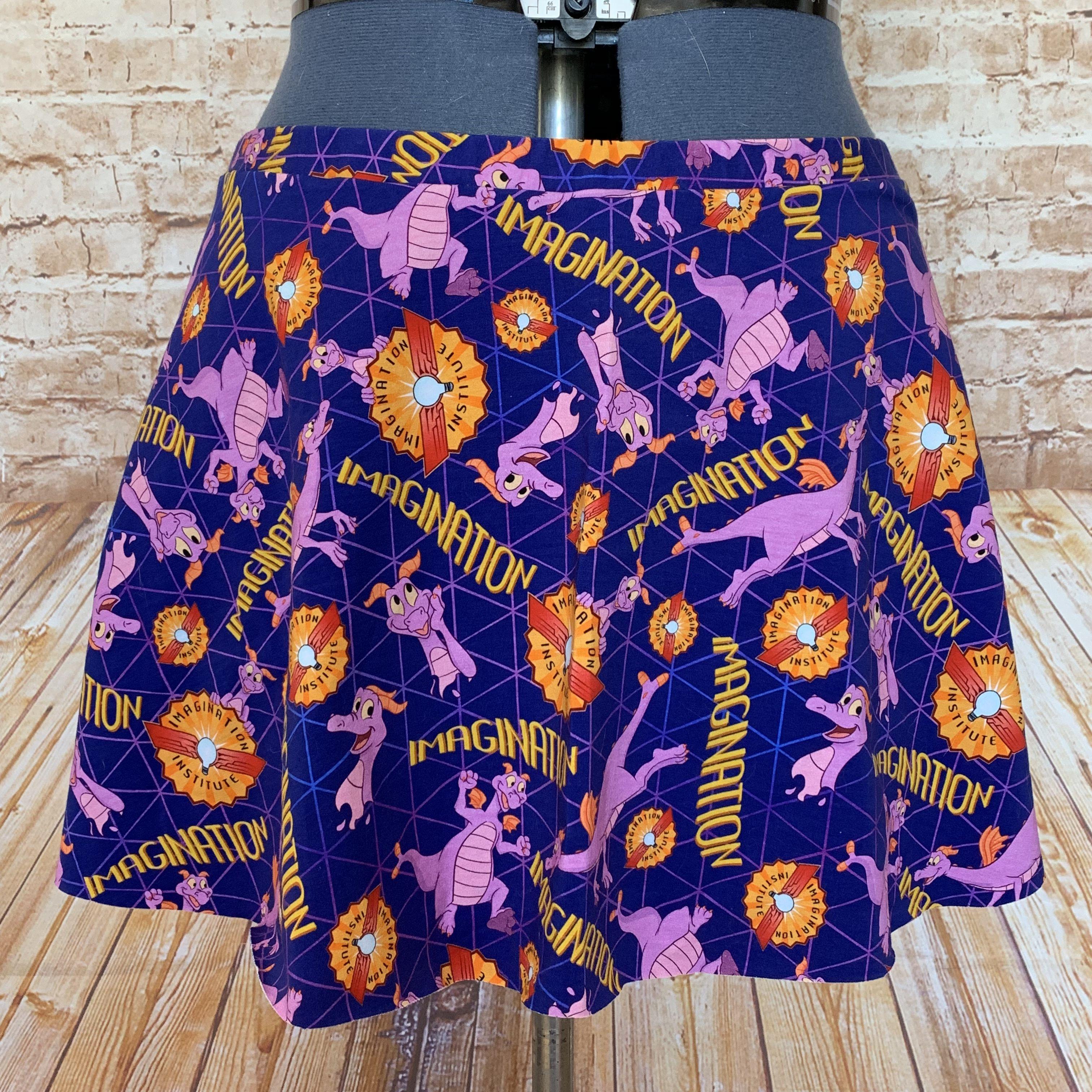 Figment Running Skirt - runDisney Costume - Figment Running