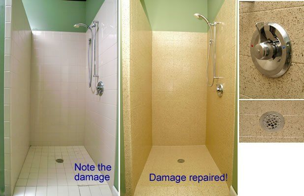 Before And After Surface Restoration By Miracle Method Tub Refinishing Countertops Tile Refinishing