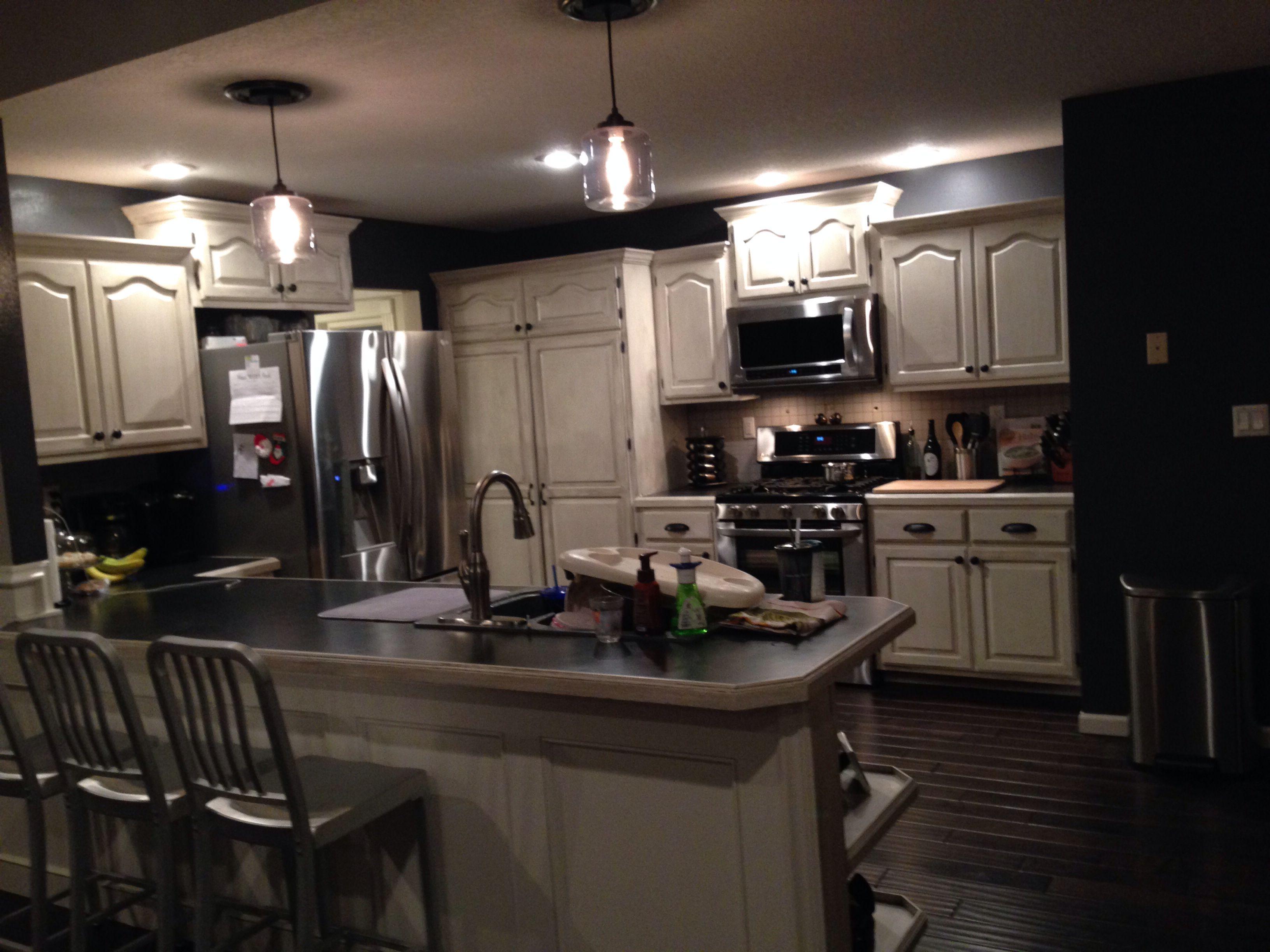 Sherwin Williams Peppercorn | Kitchen cabinets, Kitchen ...