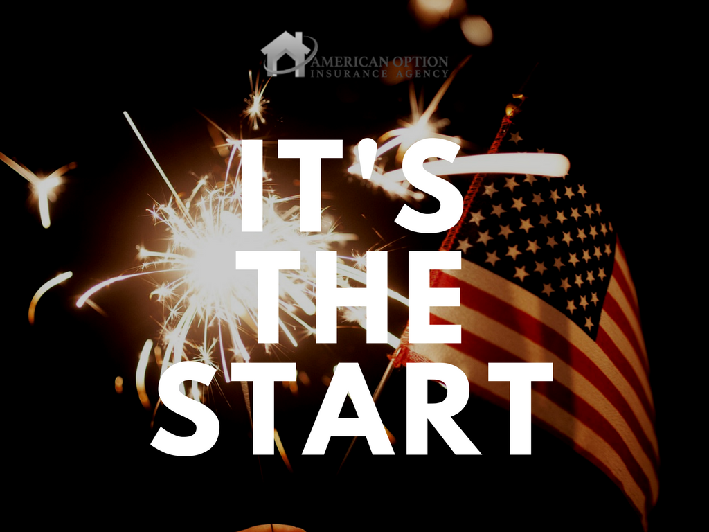 It S The Start Welcome To American Option Insurance As We Like