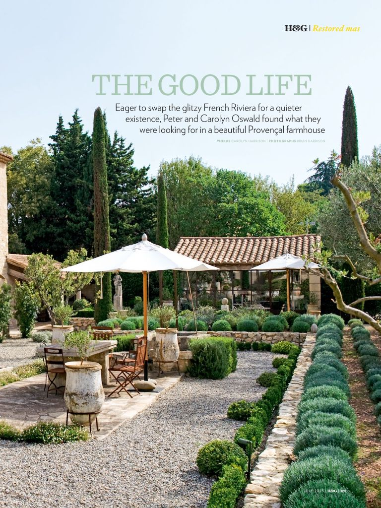Love this house featured in the July edition of Home and Garden.