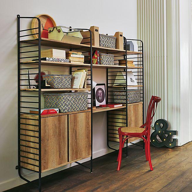 Très Tonic Bibliothèque style industriel H178cm / inspiration  SP23