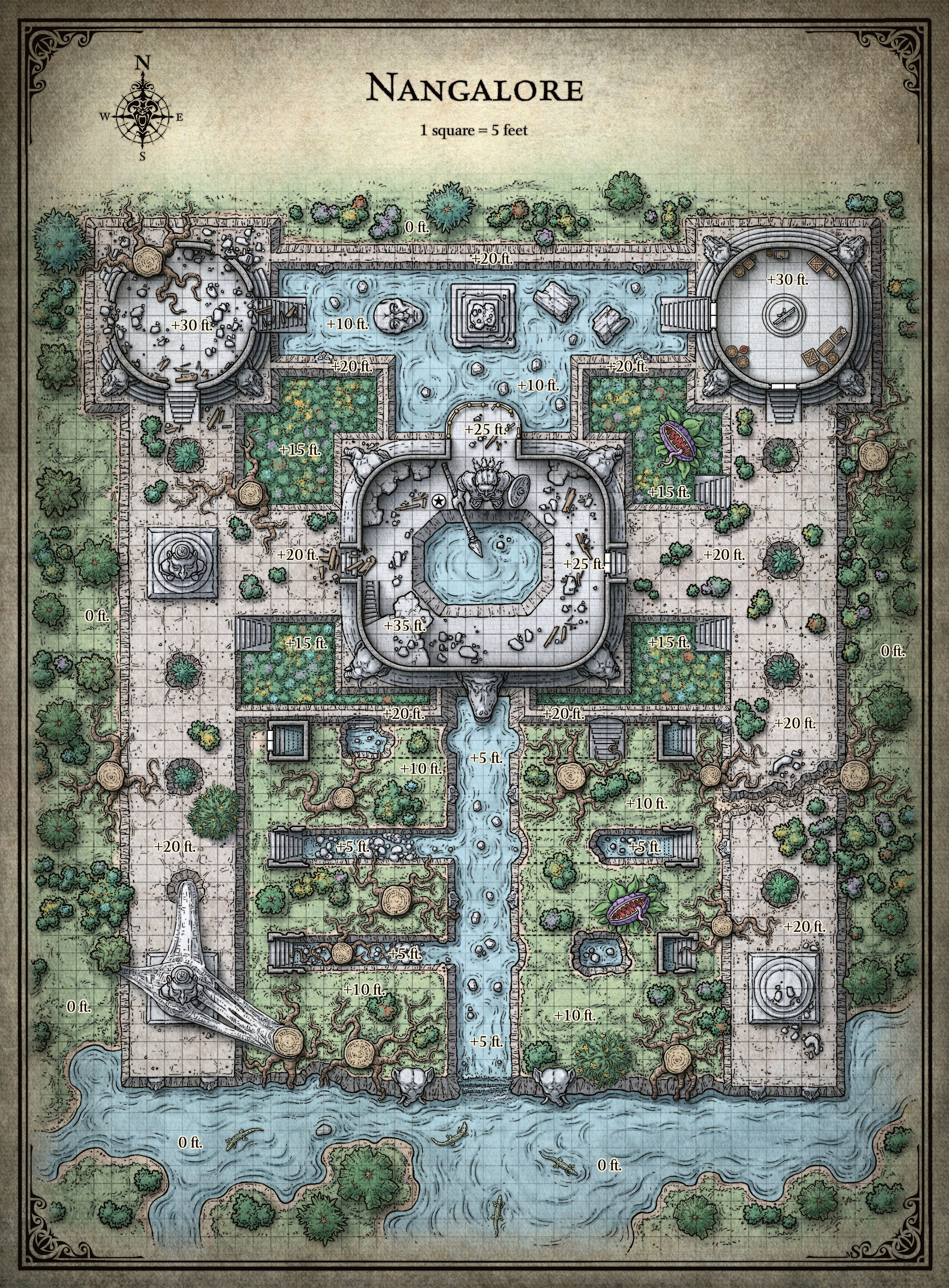 Nangalore - Tomb of Annihilation | ToA in 2019 | Dungeon ...