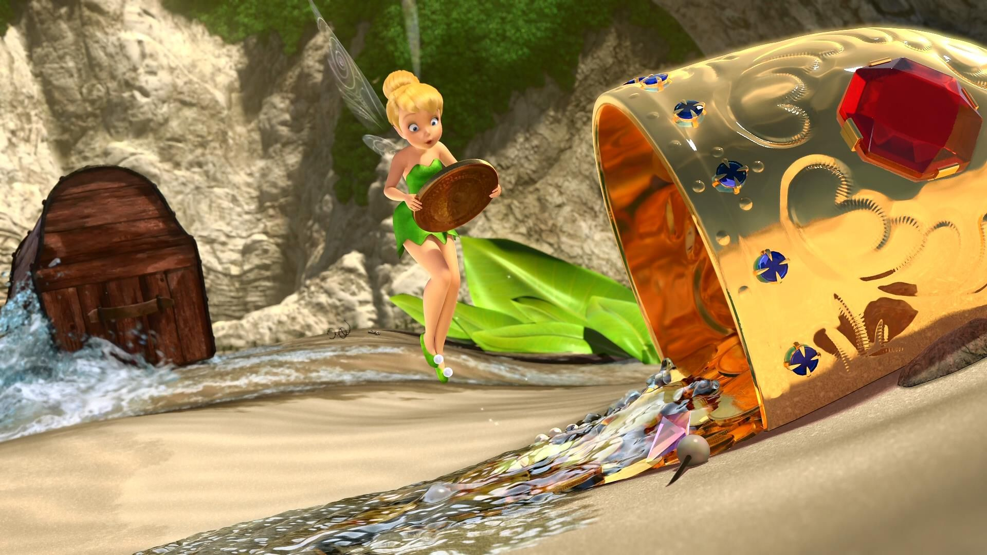 Disney The Pirate Fairy 2014 Wallpapers Mobile