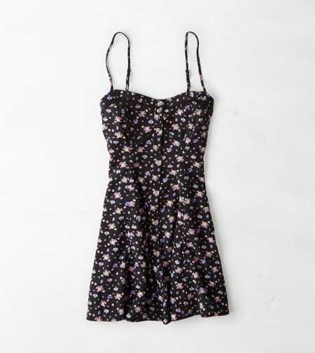 Aeo Floral Button Front Slip Dress Just What You Need
