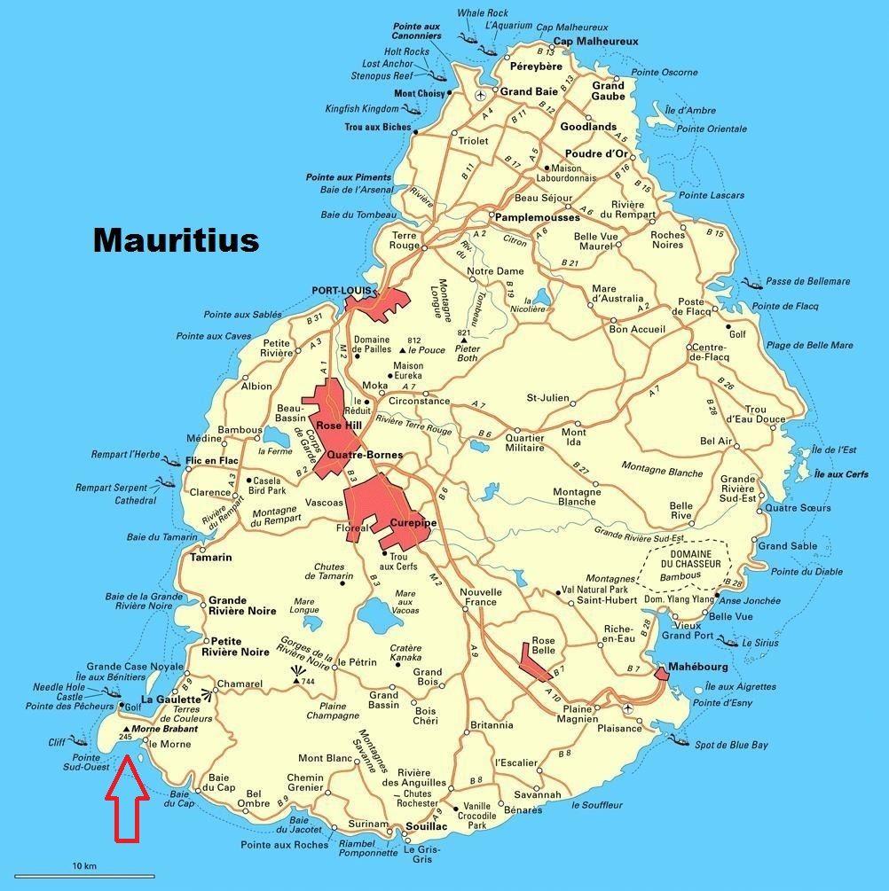 Le Morne Brabant Travelx Com Mauritius Holiday Mauritius Island