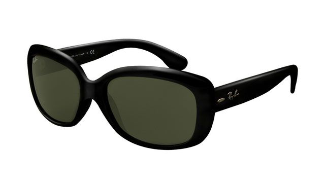 Ray Ban Rb4101 Jackie Ohh Sunglasses Black Frame Crystal Green L Occhiali Da Sole Occhiali Da Sole Ray Ban Occhiali
