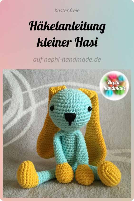 Instructions petit Hasi   – Freie Häkelanleitungen von Nephi-Handmade
