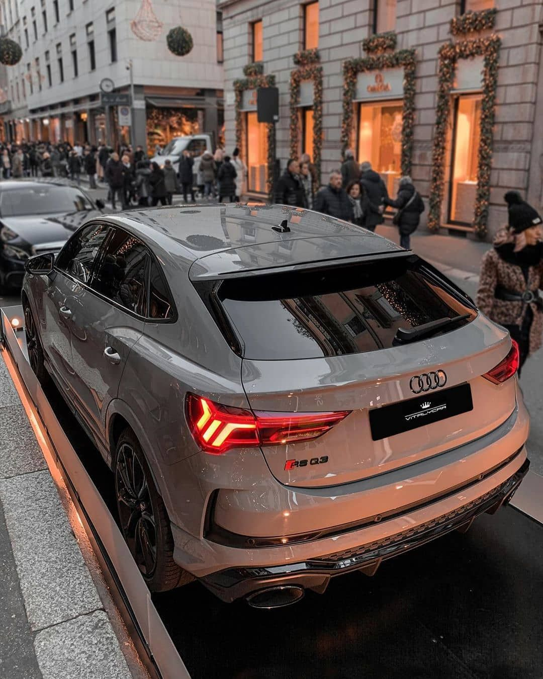 Wow I Love This Rsq3 Spec Rate This Audi From 1 100 Use Code Audilover For 10 Off Carbon Fiber Mirrors Custom Steeri In 2020 Audi New Luxury Cars Black Audi