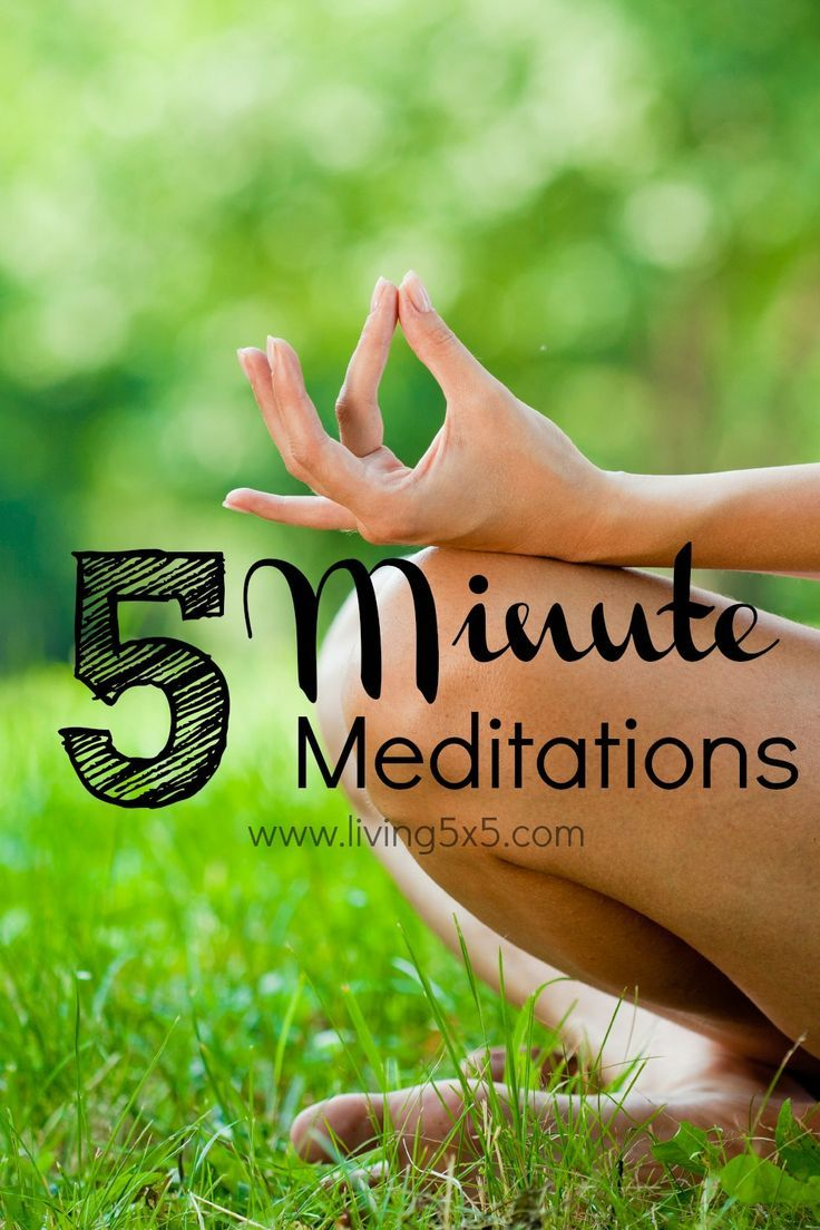 I wanted to share with you what I've learned about meditation in my very short week of attempting 5 minute routines, which are more difficult than I thought
