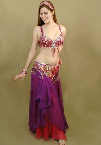 Not actually my style, but for a cabaret belly dance costumes, this is pretty nifty.