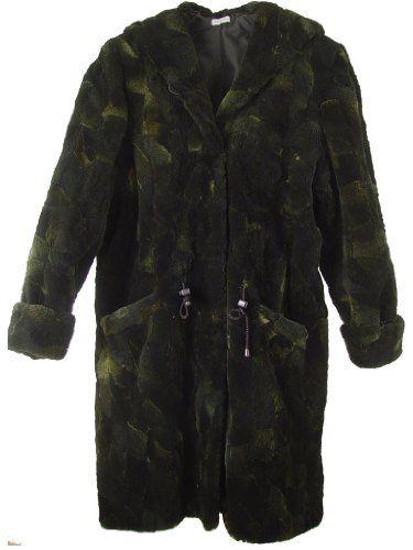 56de00d49c91 2115 Lady Multi Color Sheared Canadian Coyote Fur Half Coat 100 ...