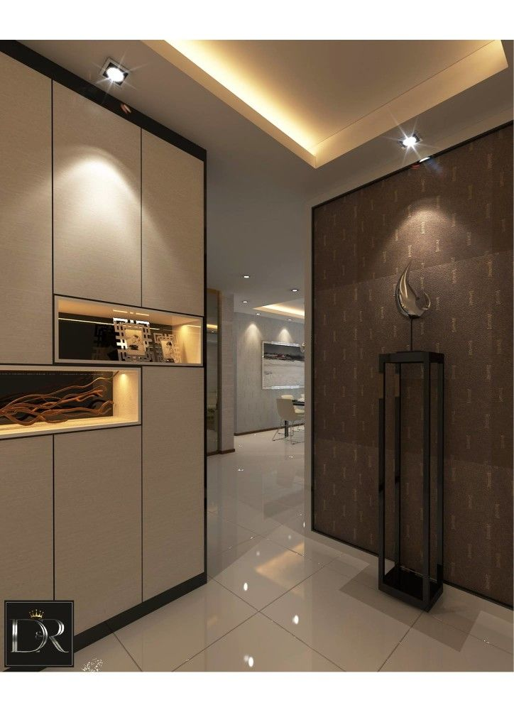 Senja Road Modern Interior Design Hdb Entrance Modern