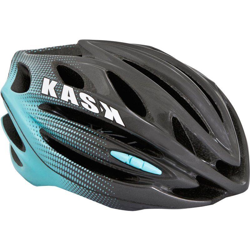 Kask 50nta Bicycle Helmet Antracite Aqua Bicycle Helmet Bicycle