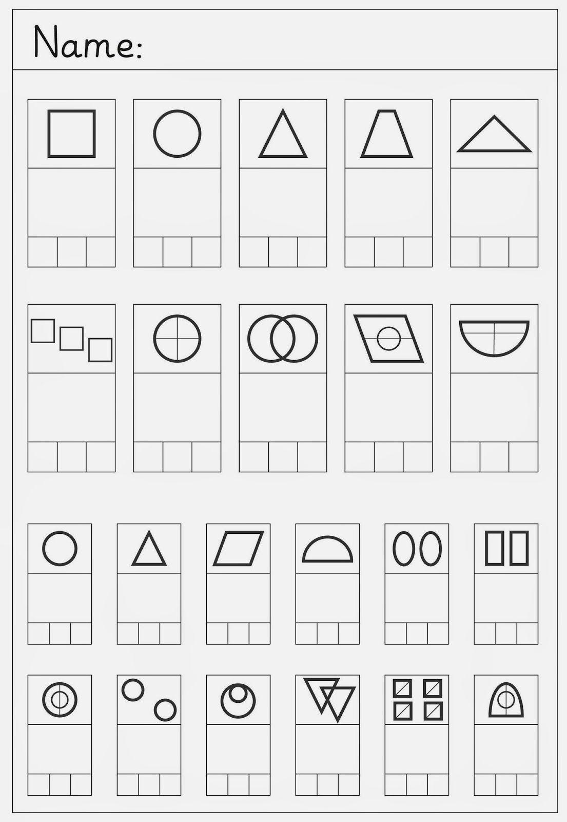 Zeichne nach (3) | Zeichnen, Schulanfänger und Sprachförderung