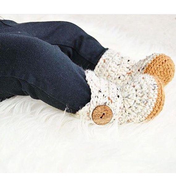 726537139 Crochet Baby Booties