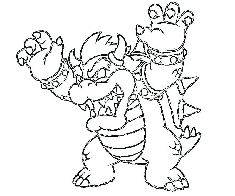 Bowser Coloring Pages Coloring Pages Princess Coloring Pages