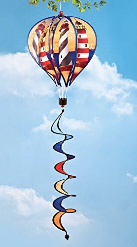 Hot Air Balloon Hanging Wind Spinners Lighthouse Collecti