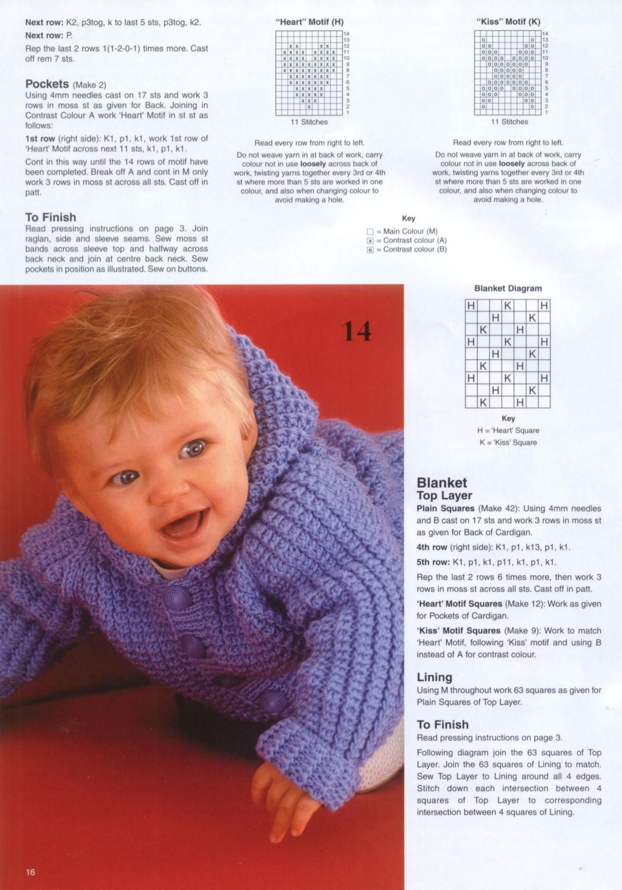 Patons 382 Knitting for Baby | Baby boy knitting patterns ...