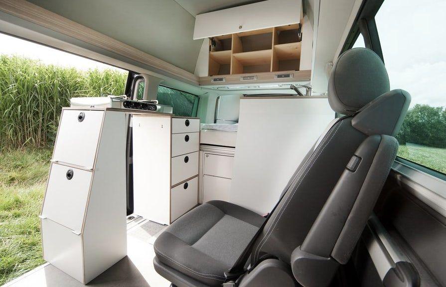 Bett Mobil Transforms The Vw Multivan Into Modular Campervan In A Box Multivan Vw Multivan Campervan