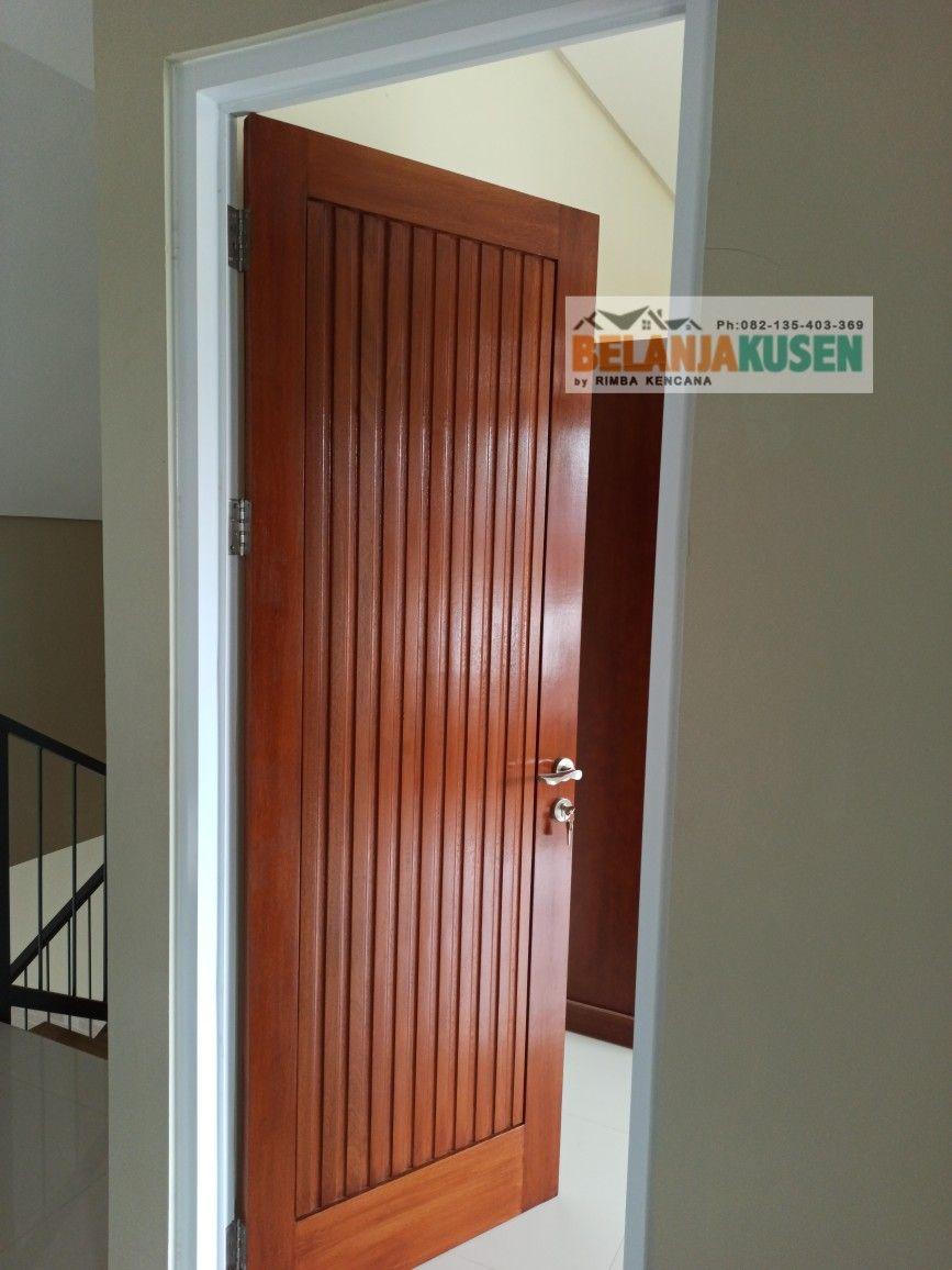 daun pintu minimalis single)