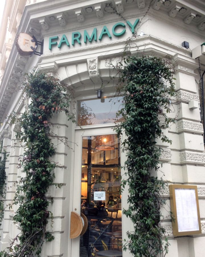Farmacy London Vegan Restaurant Vegetarian Restaurant London Restaurants Vegan London London Cafe