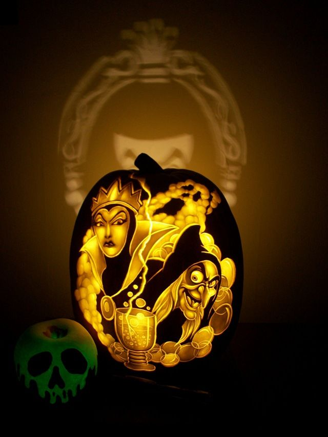 Stunning disney villains pumpkin carvings