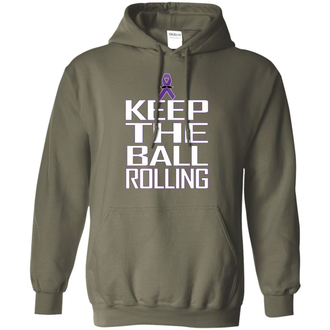 keep the ball rolling 2 Pullover Hoodie 8 oz