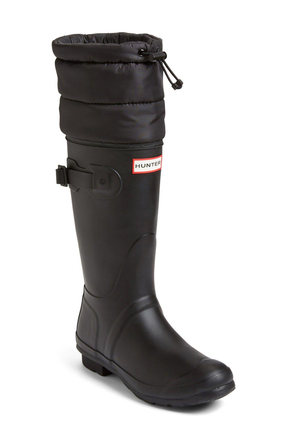 Hunter 'Original - Quilted Cuff' Rain Boot (Women) | Hunter Boots ... : hunter boots quilted - Adamdwight.com