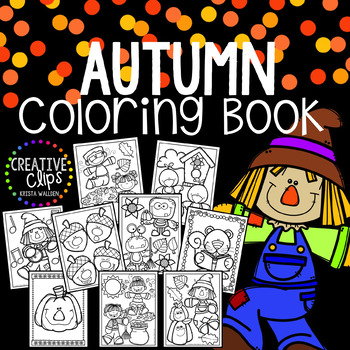 Fall Coloring Pages Made By Creative Clips Clipart Fall Coloring Pages Creative Clips Clipart Coloring Pages