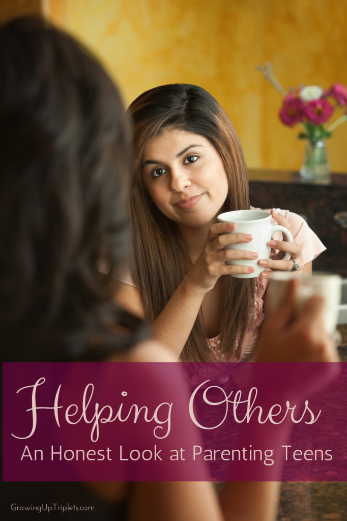 Photo of Helping Others: An Honest Look at Parenting Teens – GrowingUp