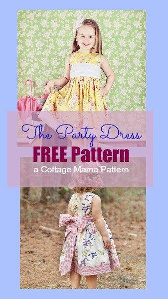 15f285998 Little Girls Dress Pattern FREE   Patterns that I like   Little girl ...