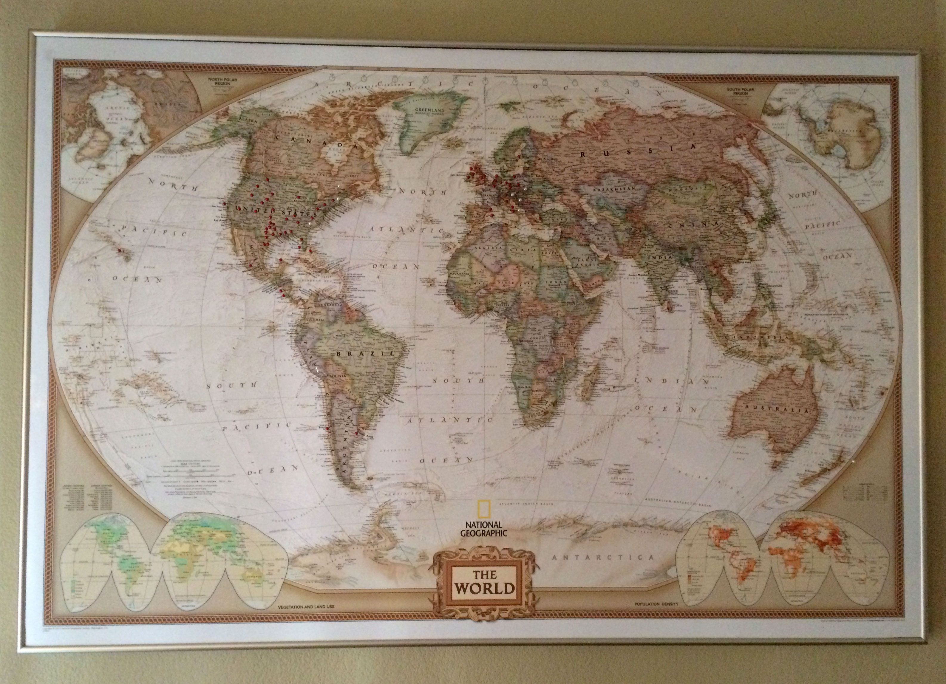Pin by brandon bazar on random projects pinterest world executive poster size and tubed national geographic reference map dimensions satisfaction ensured design is stylish and innovative gumiabroncs Image collections