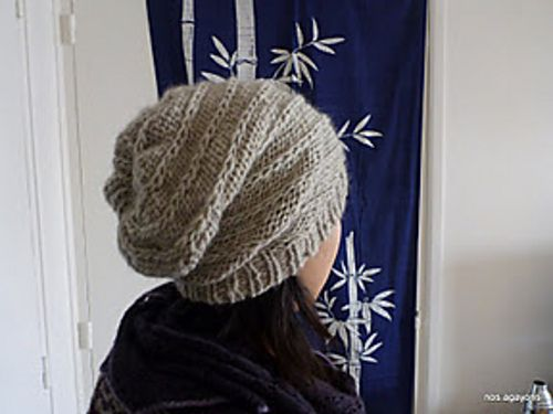 dexterL's Reversible Spiral Hat knit with Zealana Tui, via #Ravelry