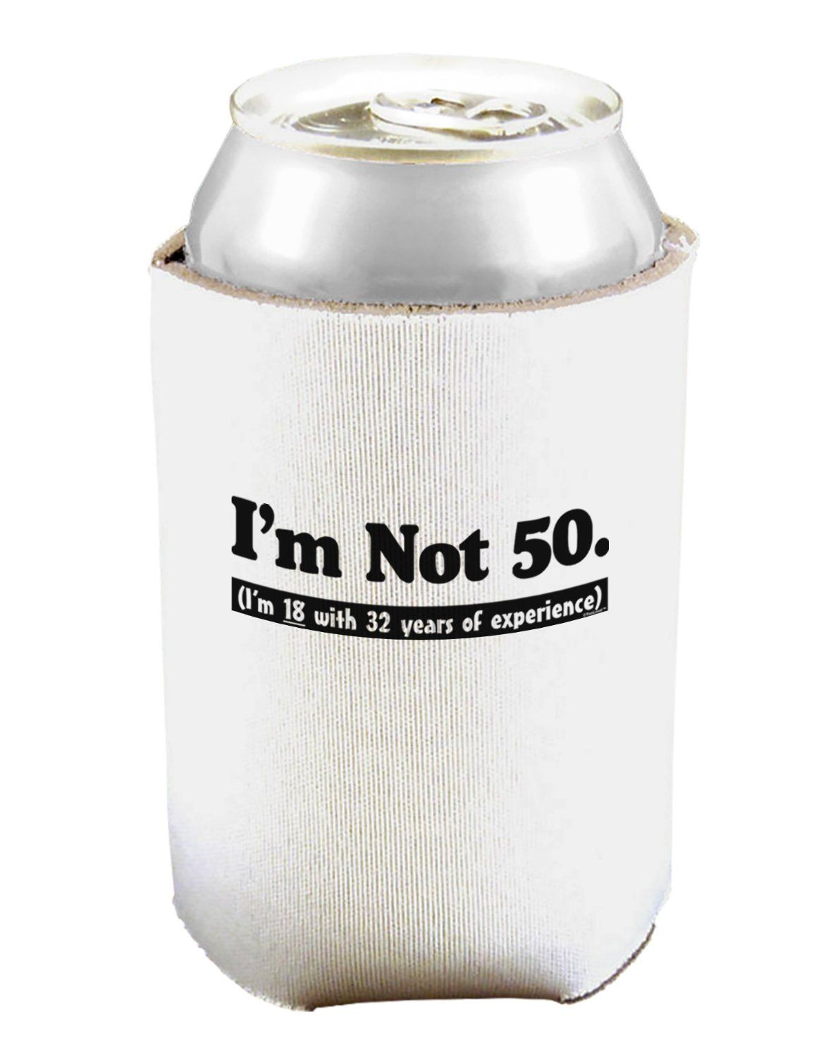 50th birthday koozies that captures the essence of age in