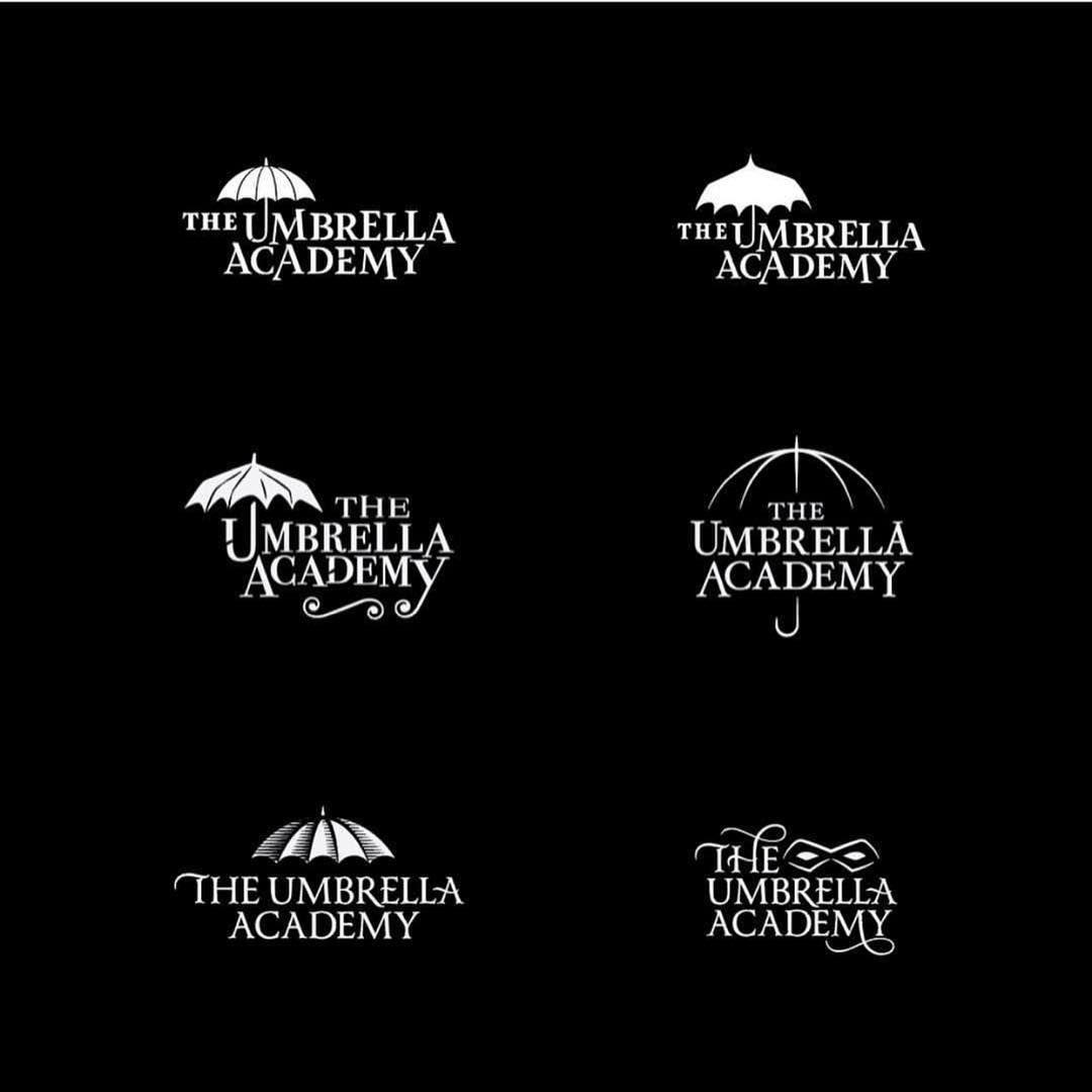 Logo Inspirations On Instagram Umbrella Academy Concepts By Mattstevensclt Www Logoinspirations Co Learn Lear Learning Logo Logo Design Umbrella