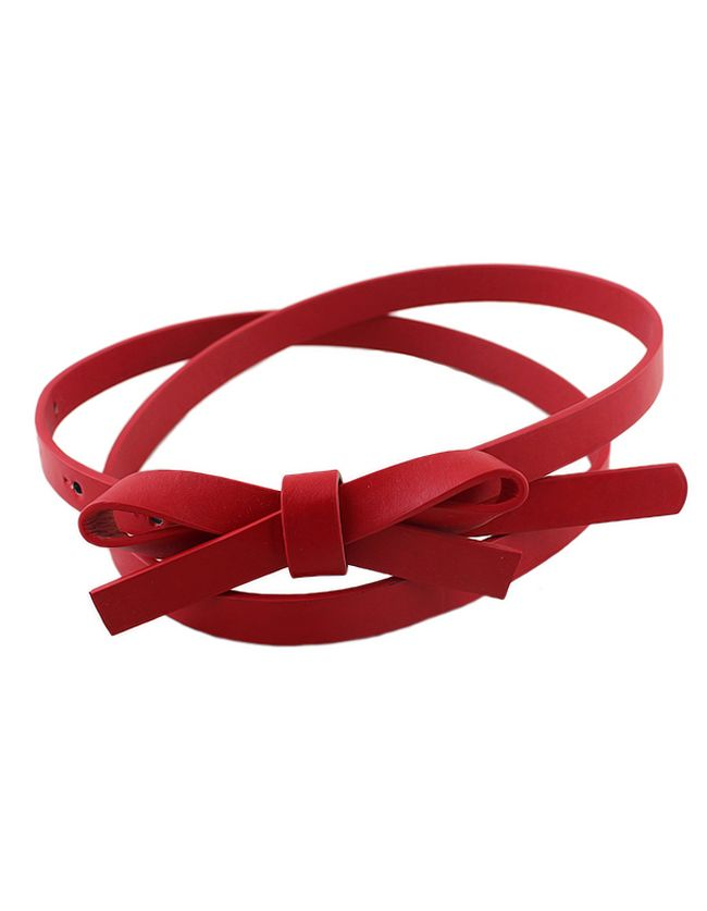 New coming PU leather thin candy color fashion women belt 4.56