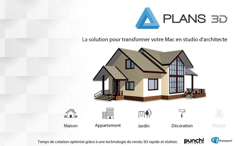 Kosi Kasa Plan 3d Plan Maison 150m2 Plan Maison 3d Logiciel Plan Maison