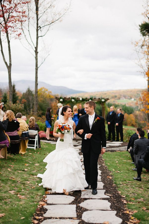 New Hampshire Rustic Wedding At Ragged Mountain Resort Outdoor
