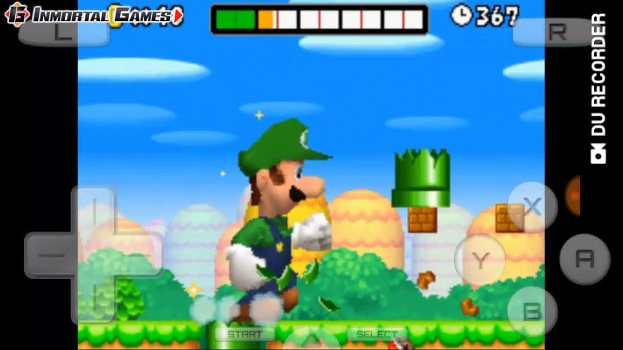 Drastic 2 5 1 2a Apk Android Neues Super Mario Bros Ds Luigi