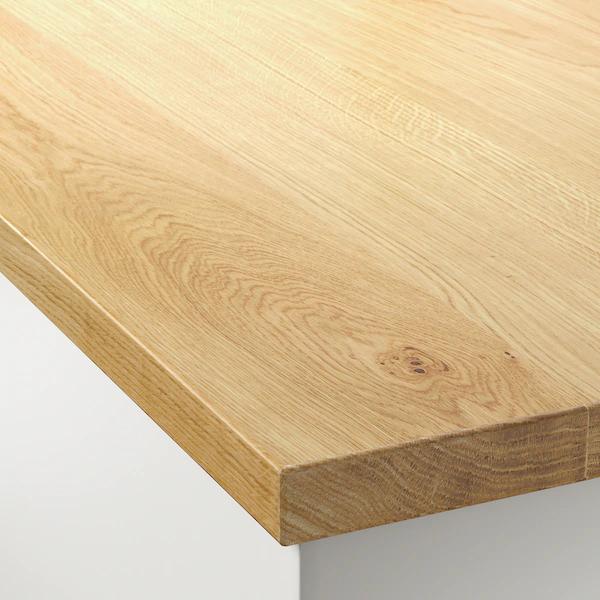 Mollekulla Countertop Oak Veneer 98x1 1 2 In 2020 Countertops Wood Countertops Kitchen Countertops