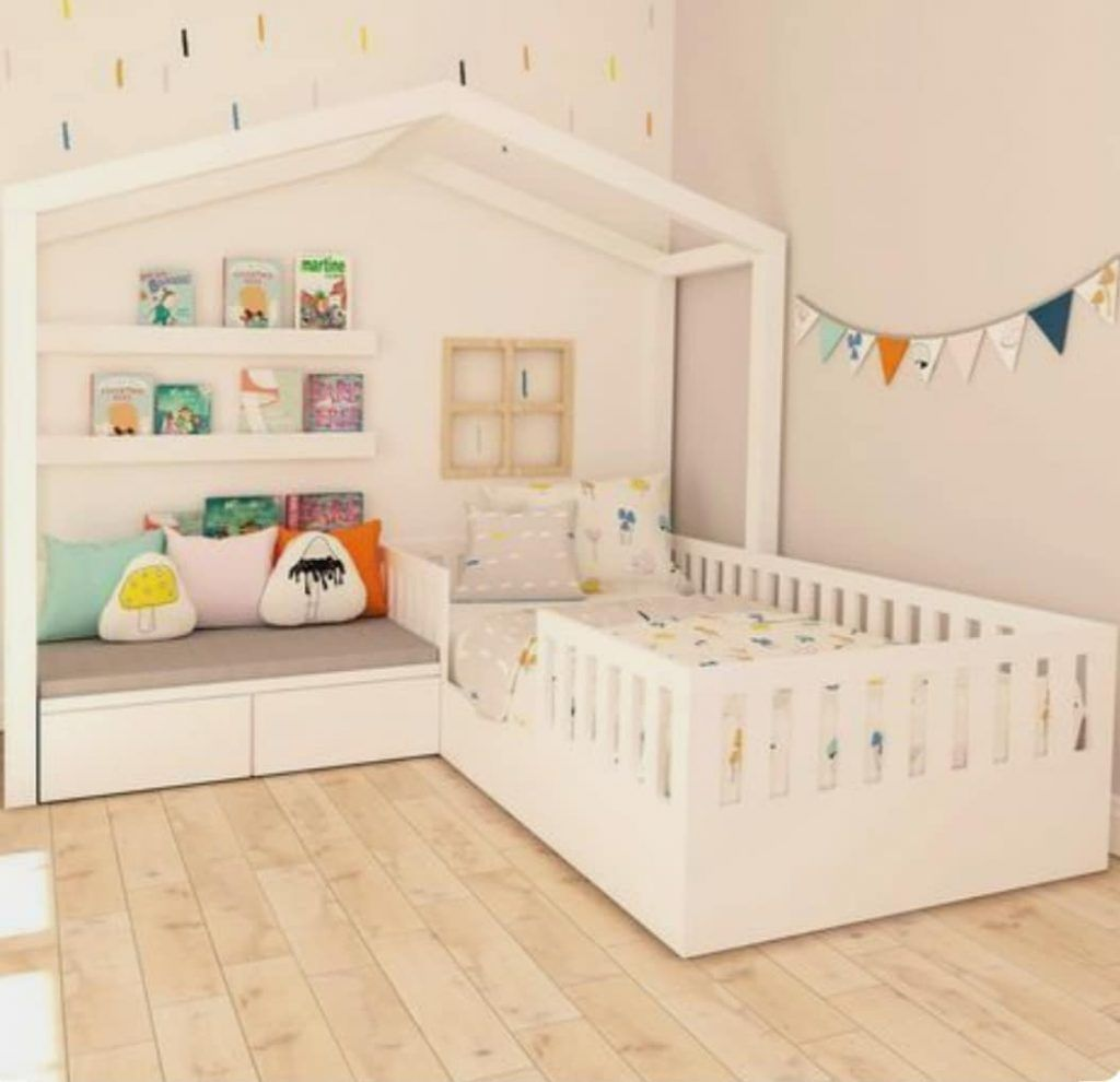Quarto Montessoriano: como montar, ideias e móveis Çocuk Odası
