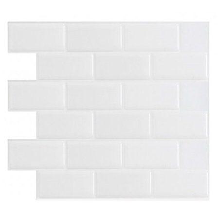 Home Improvement Peel Stick Tile Stick On Tiles Backsplash Panels