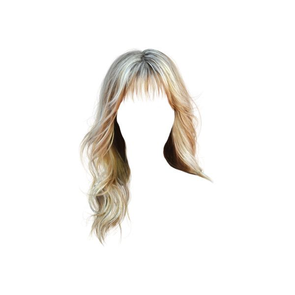 Hairstyles Liked On Polyvore Featuring Hair And Doll Hair Blonde Hair With Bangs Hair Styles Doll Hair