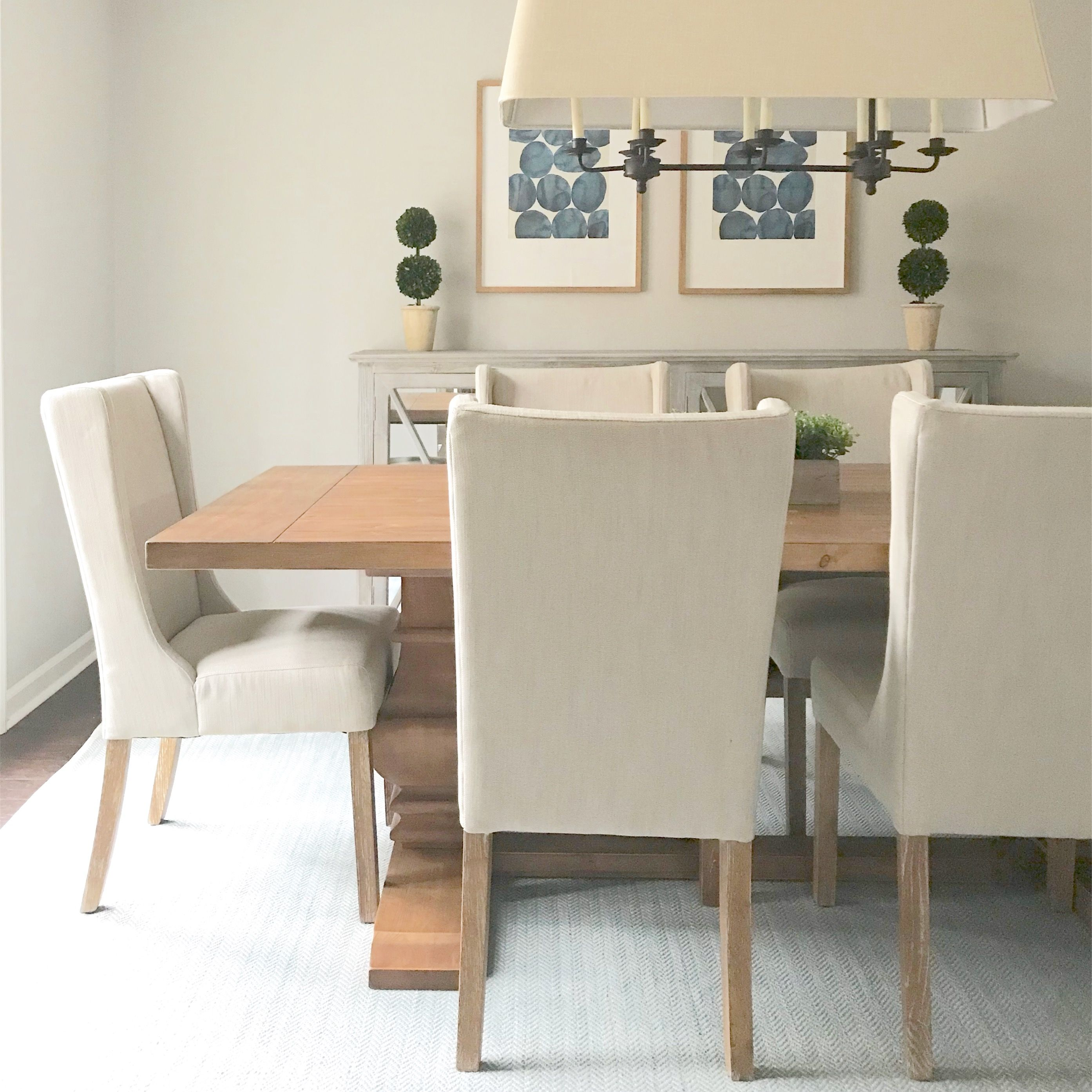 Our dining room is ready for entertaining! The Dash and ...