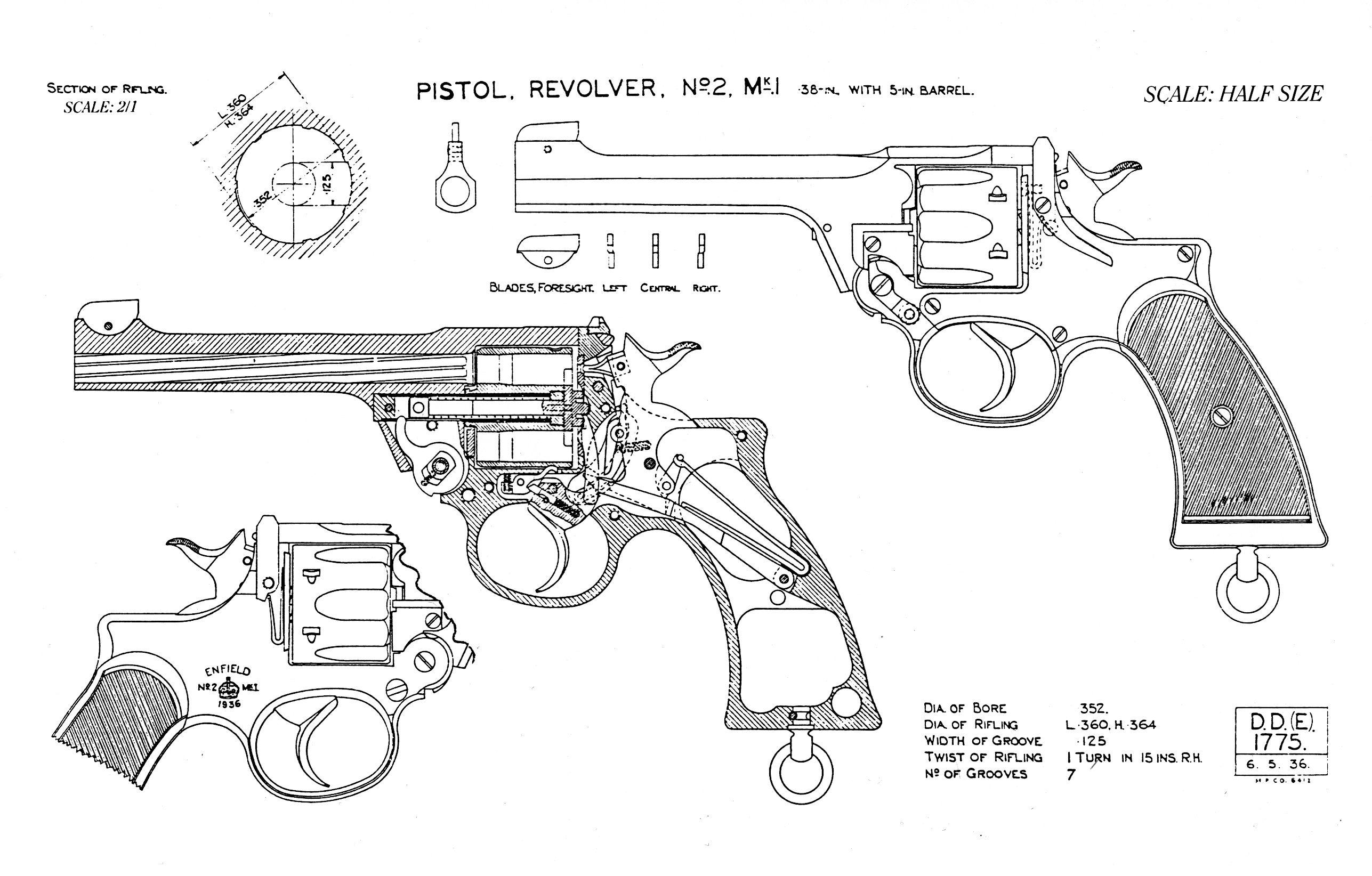 revolver blueprints revolvers revolver, weapons, hand gunsHandgun Diagram For Pinterest #6